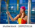 portrait of athletic beautiful...   Shutterstock . vector #1009253116
