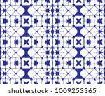 seamless pattern  abstract tie... | Shutterstock .eps vector #1009253365