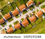 aerial view of new family... | Shutterstock . vector #1009255288