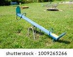 Children's Playground. Swing ...