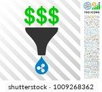 dollar ripple conversion filter ... | Shutterstock .eps vector #1009268362