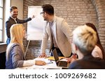 creative business team working...   Shutterstock . vector #1009269682