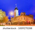 town hall in regional town of... | Shutterstock . vector #1009270288
