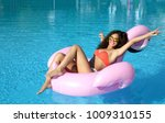 young sexy pretty woman... | Shutterstock . vector #1009310155