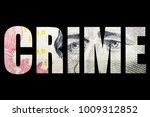 financial crime  money and... | Shutterstock . vector #1009312852