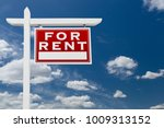 right facing for rent real... | Shutterstock . vector #1009313152