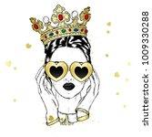 Beautiful Girl In The Crown An...