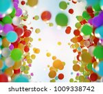 colorful bouncing balls... | Shutterstock . vector #1009338742