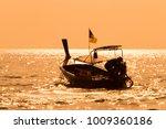 longtail boat in phuket... | Shutterstock . vector #1009360186