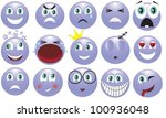 icon depicting the various... | Shutterstock .eps vector #100936048