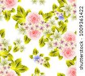 abstract elegance seamless... | Shutterstock .eps vector #1009361422