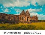 vat phou or wat phu is the... | Shutterstock . vector #1009367122