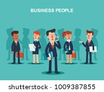 young businessmen and business... | Shutterstock .eps vector #1009387855