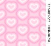 heart pattern vector  | Shutterstock .eps vector #1009389376