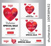 red special discount big sale... | Shutterstock .eps vector #1009389652