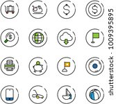 line vector icon set   baggage... | Shutterstock .eps vector #1009395895