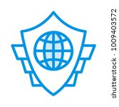 shield protection secure   | Shutterstock .eps vector #1009403572