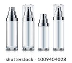 blank sprays set  silver and... | Shutterstock . vector #1009404028