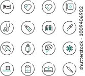 line vector icon set   hotel... | Shutterstock .eps vector #1009406902