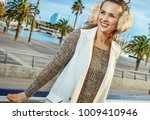 in barcelona for a perfect...   Shutterstock . vector #1009410946