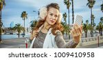 in barcelona for a perfect... | Shutterstock . vector #1009410958