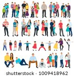 vector  isolated isometric... | Shutterstock .eps vector #1009418962