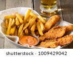 finger foods with breaded... | Shutterstock . vector #1009429042