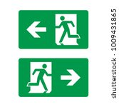 exit icon vector. road sign....   Shutterstock .eps vector #1009431865