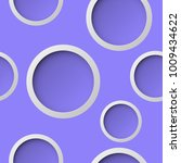 seamless round pattern. circle... | Shutterstock .eps vector #1009434622