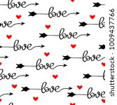 pattern for valentine's day... | Shutterstock .eps vector #1009437766