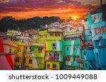 rio de janeiro downtown and...   Shutterstock . vector #1009449088
