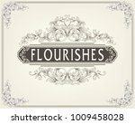 ornament logo design template... | Shutterstock .eps vector #1009458028