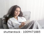 satisfied and happy smiling...   Shutterstock . vector #1009471885