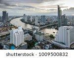 bangkok city   aerial view ... | Shutterstock . vector #1009500832