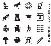 solid black vector icon set  ... | Shutterstock .eps vector #1009506376