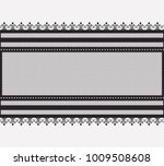 lace wide horizontal seamless... | Shutterstock .eps vector #1009508608