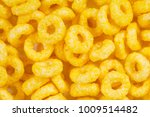 corn flakes background and... | Shutterstock . vector #1009514482