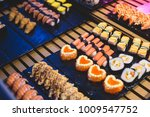 decorated catering banquet... | Shutterstock . vector #1009547752