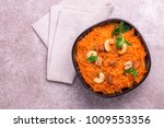 traditional indian cuisine.... | Shutterstock . vector #1009553356