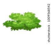 cartoon bush illustration.... | Shutterstock .eps vector #1009568542