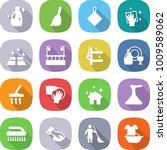 flat vector icon set   cleanser ... | Shutterstock .eps vector #1009589062