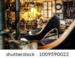 handmade woman shoes and...   Shutterstock . vector #1009590022