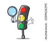 detective traffic light... | Shutterstock .eps vector #1009626295