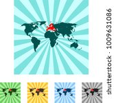 map of europe | Shutterstock .eps vector #1009631086