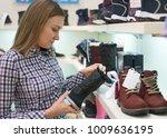 pretty woman choosing children...   Shutterstock . vector #1009636195
