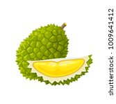 summer tropical fruits for... | Shutterstock .eps vector #1009641412
