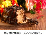 dessert on a background of... | Shutterstock . vector #1009648942