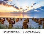 scharbeutz  beach  germany    Shutterstock . vector #1009650622