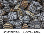 modern ideas square stone... | Shutterstock . vector #1009681282