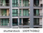 apartment building with... | Shutterstock . vector #1009743862
